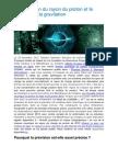 La Prédiction Du Rayon Du Proton