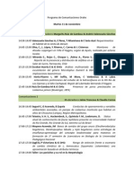 Programa de Comunicaciones Orales 2