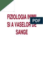 Fiziologie c5 - Fiziologia Inimii Si a Vaselor de Sange
