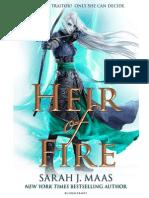 Heredera de Fuego- Sarah J. Maas