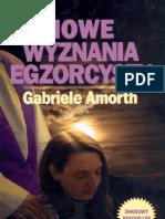 Amorth Gabriele - Nowe Wyznanie Egzorcysty