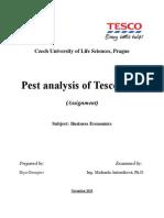Pest Analysis Tesco Iliya Georgiev-libre