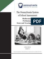 2013-14 mathematics preliminary item and scoring sampler grade 3 1