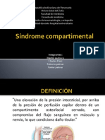 Síndrome compartimental