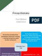 Prinsip Ekstraksi