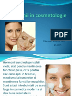 Hormonii in Cosmetologie