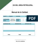 Manual de La Calidad Servicios Del Área Petrolera.