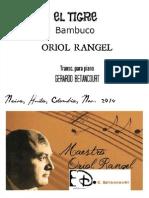 EL TIGRE. Bambuco. Oriol Rangel. Transc. Gerardo Betancourt.