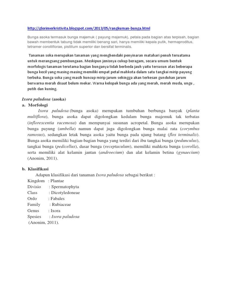 Morfologi bunga asoka ccuart Image collections