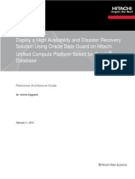 Hitachi Design Doc High Availability Disaster Recovery Solution Using Oracle Data Guard