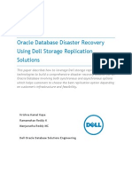 Oracle Database Disaster Recovery Using Dell Storage Replication Solutions