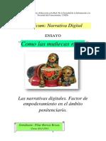 Las Narrativas Digitales. Factor de empoderamiento en el ámbito penitenciario