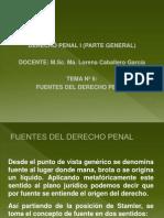 UNIDAD 2-2 Fuentes Del Derecho Penal