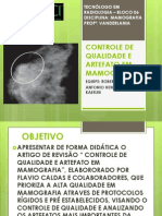 CONTROLE DE QUALIDADE E ARTEFATO EM MAMOGRAFIA.pptx