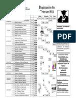 Programacion Trimestral 4 2014 FUNCECAIN