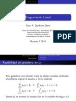 Forma Tabular método SIMPLEX