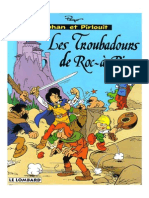 Johan Et Pirlouit 15 - Les Troubadours de Roc a Pic