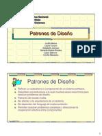 Diseño de sistemas patrones de diseño