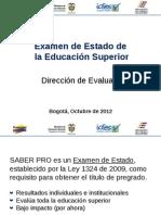 Charla Informativa Estructura General Saber Pro