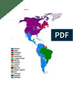 America y Sus Distintos Idiomas