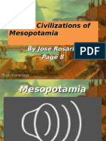 Early Civilizations of Mesopotamia