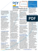 """Pharmacy Daily for Mon 10 Nov 2014 - Pharmacy notifications up 20%, FDA warns Hospira on """"adulterated"""" meds, Vax training accreditation fin, Antimicrobial risk data consult, and much more"""