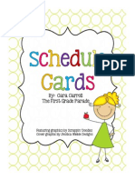 schedulecards