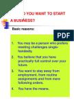 Entrep Basics and Helpful Tips