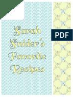 sarahs recipes