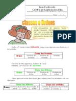 Ficha Informativa - Leitura de Números - Classes e Ordens