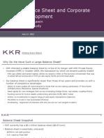 Balance Sheet Overview