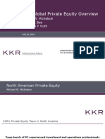 KKR Global Private Equity Overview - North America