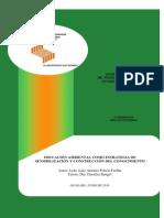 EDUCACIÓN AMBIENTAL COMO ESTRATEGIA DE SENSIBILIZACIÓN Y CONSTRUCCIÓN DEL CONOCIMIENTO