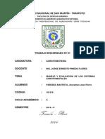Manejo y Evaluación de Los Sistemas Agroforestales