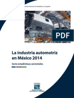 INEGI Cifras Industria Automotriz