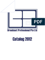 Broadcasting Professional Products