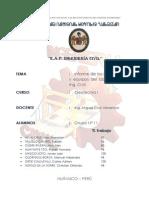 Informe Laboratorio de Geotecnia