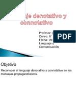 Denotación y Connotación 6°