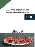 Life Saving Appliances and Equipment on Board Ship