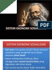 Sistem Ekonomi Sosialisme