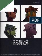 Gorillaz - Demon Days Songbook