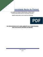 Histórico Do Planejamento No Brasil - Maria Nancinéle