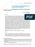 Dialnet-FundamentoDeLaPosturaEpistemologicaDelMaestroUnive-3798862