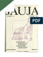 Revista Jauja Leonardo Castellani -34- Octubre 1969