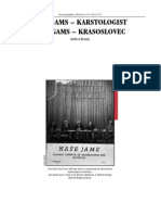 IVAN GAMS – KARSTOLOGIST, Andrej Kranjc, 2013
