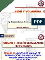 Perforacion y Voladura I- Tema 18