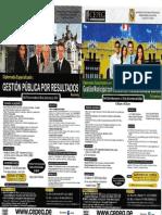 Programas de Alta Especialización Octubre - Diciembre 2014-II
