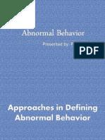 8 Abnormal Behavior