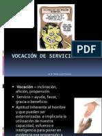 Vocación de Servicio