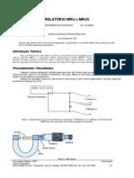 Modelo de Relatório - Engenharia